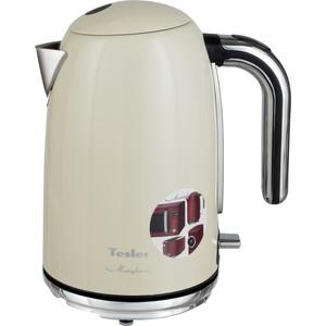 Чайник электрический Tesler KT-1755 BEIGE чайник электрический supra kes 1705 beige