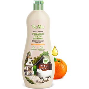 Чистящее средство BioMio Апельсин для кухни, крем экологичный 500 мл