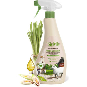 Чистящее средство BioMio Лемонграсс для кухни, спрей экологичный 500 мл
