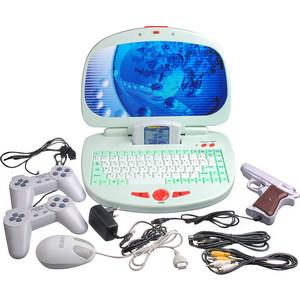 Игровая приставка Dendy Магистр Гений white + кабель AV, джойстик 2 шт, обучающий картридж, мышь