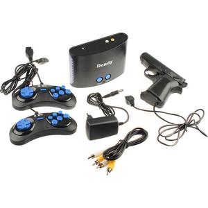 Фото - Игровая приставка Dendy BLACK + контроллер (255 игр) игровая приставка dendy kids black 195 игр