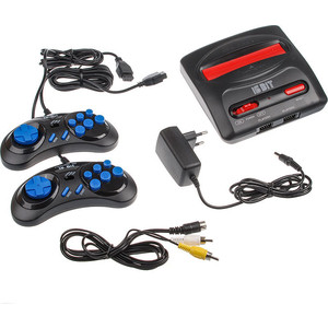 Игровая приставка Sega Magistr Drive 2 Little black (65 игр)