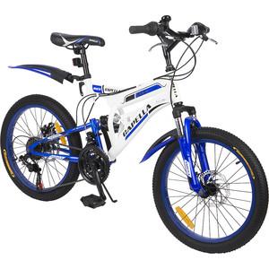 Велосипед 2-х колесный Capella (синий+белый) GL000432791