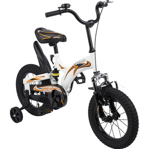 Велосипед 2-х колесный Capella (бел+черн+оранж) GL000432782