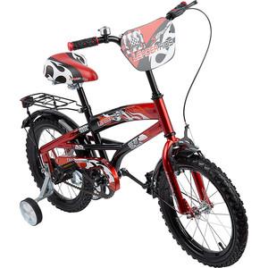 Велосипед 2-х колесный Leader Kids ЧЕРНЫЙ+КРАСНЫЙ GL000143730