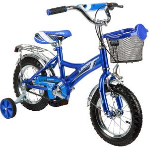 Велосипед 2-х колесный Leader Kids СИНИЙ GL000432786