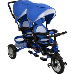 Велосипед 3-х колесный Capella TWIN TRIKE 360, BLUE (синий), надув. колеса, 2019 GL000957397