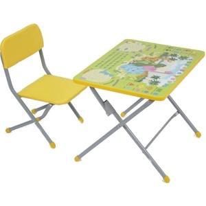 Комплект детской мебели Фея Фея досуг №101 Динозаврики, (стол+стул) GL000385200 фея набор детской мебели досуг динозаврики