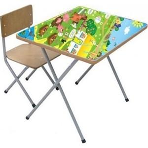 Комплект детской мебели Фея Фея досуг №101 Веселая ферма, (стол+стул) 90100231071 пазлы learning journey набор пазлов веселая ферма