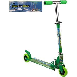 Самокат 2-х колесный Leader Kids LK-6039 Green (зеленый) GL000890066