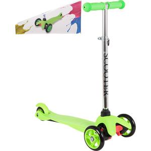 цена Самокат 3-х колесный Leader Kids LK-102 Green (зеленый) GL000890073