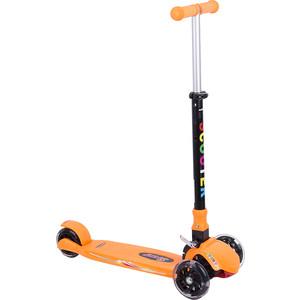 Самокат 3-х колесный Leader Kids (оранжевый) GL000373866 viplex viplex самокат 3 х колесный детский оранжевый