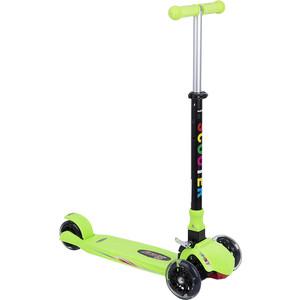 Самокат 3-х колесный Leader Kids (зеленый) GL000373864 цена