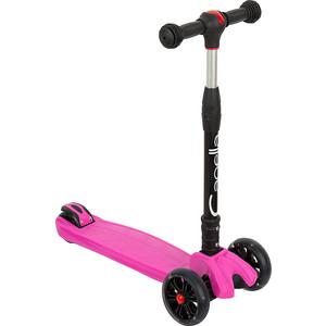 Самокат 3-х колесный Capella TORNADO Pink, (розовый) GL000549655 цена