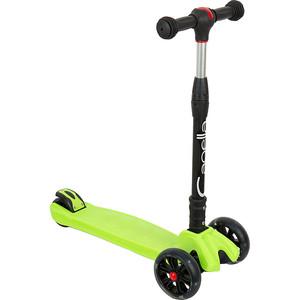 Самокат 3-х колесный Capella TORNADO Green, (зеленый) GL000549653 самокат 3 х колесный babyhit babyhit самокат беговел трансформер scooterok tolocar green зеленый