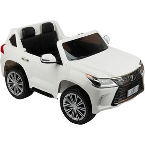 Электромобиль Weikesi 3-8 лет, DK-LX570 white, Lexus LX570 (БЕЛЫЙ) GL000913093 цена