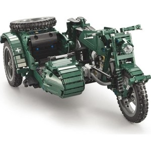Фото - Конструктор Double E Cada Technics Мотоцикл 629 деталей - C51021W конструктор совтехстром мотоцикл