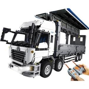 Конструктор Lepin 23008 Wing Body Truck - Technic 1389 lepin 20020 lepin technic mechanical ultimate series the american style heavy container trucks set 8285 building blcoks bricks