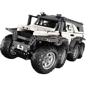 Конструктор Lepin 23011 Вездеход Авторос Шаман 8x8 - Technic 5360 конструктор lego technic скоростной вездеход с дистанционным управлением 42065