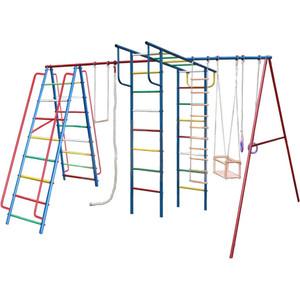 Детский спортивный комплекс Вертикаль Вертикаль-А1+П дачный МАКСИ (1765) с качелями