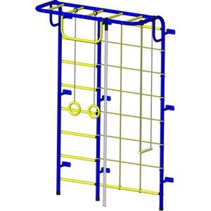 купить Детский спортивный комплекс Пионер С104М сине/желтый онлайн