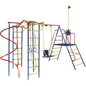 Детский спортивный комплекс Пионер Юнга дачный со спиралью (2665) игровой комплекc пионер юнга тк 2 2358