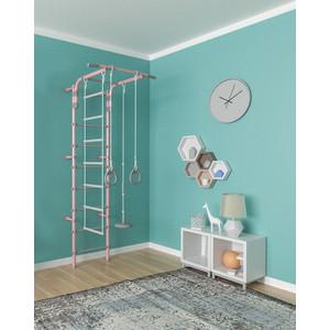 Детский спортивный комплекс Формула здоровья Pastel 2 розовый/серый