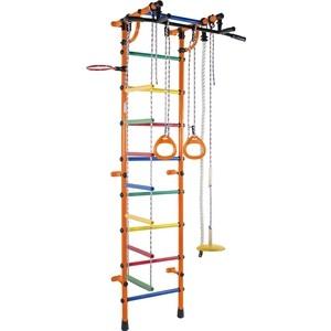 Детский спортивный комплекс Формула здоровья Гамма-3К Плюс оранжевый/радуга