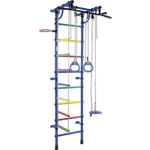 Детский спортивный комплекс Формула здоровья Гамма-3К Плюс синий/радуга детский спортивный комплекс формула здоровья жирафик 1а плюс синий радуга