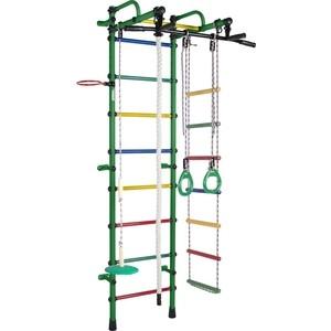 Детский спортивный комплекс Формула здоровья Лира зеленый/радуга цена