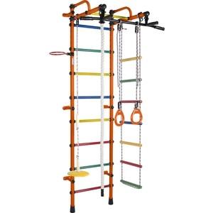 Детский спортивный комплекс Формула здоровья Лира-3К Плюс оранжевый/радуга детский спортивный комплекс формула здоровья уралец 1а плюс универсальный синий радуга
