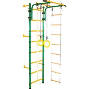 Детский спортивный комплекс Юный Атлет Пристенный зеленый