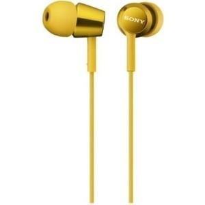 Наушники Sony MDR-EX150 yellow цена 2017