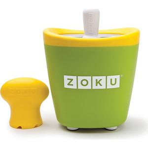 Набор для приготовления мороженого Zoku Single Quick Pop Maker (ZK110-GN) набор для приготовления мороженого zoku single quick pop maker zk110 gn