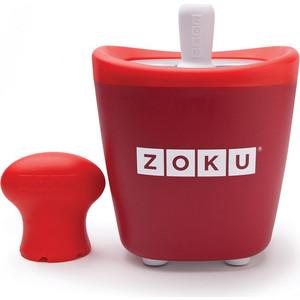 Набор для приготовления мороженого Zoku Single Quick Pop Maker (ZK110-RD) набор для приготовления мороженого zoku single quick pop maker zk110 gn