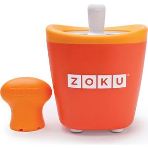 Набор для приготовления мороженого Zoku Single Quick Pop Maker (ZK110-OR) набор для приготовления мороженого zoku single quick pop maker zk110 gn