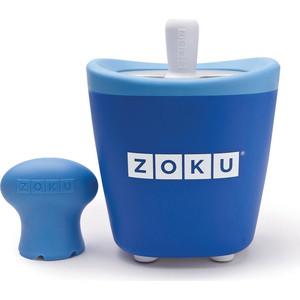 Набор для приготовления мороженого Zoku Single Quick Pop Maker (ZK110-BL) набор для приготовления мороженого zoku single quick pop maker zk110 gn
