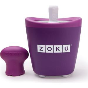 Набор для приготовления мороженого Zoku Single Quick Pop Maker (ZK110-PU) набор для приготовления мороженого zoku single quick pop maker zk110 gn