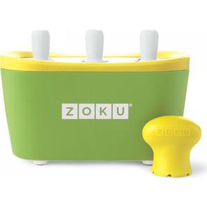 Набор для приготовления мороженого Zoku Triple Quick Pop Maker (ZK101-GN) набор для приготовления мороженого zoku single quick pop maker zk110 gn