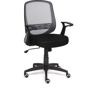 Кресло TetChair UNO ткань черный/серый DW-06/SW-01