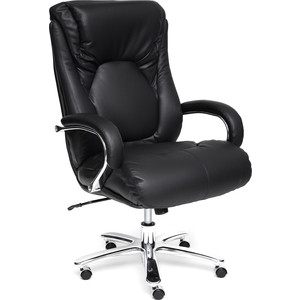 Кресло TetChair MAX кожа/кож/зам черный кресло tetchair iwheel кож зам черный красный
