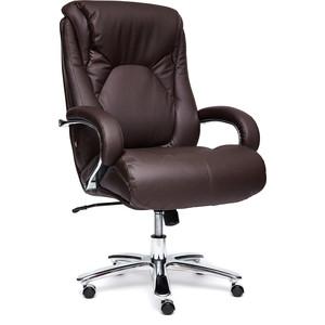 Кресло TetChair MAX кожа/кож/зам коричневый