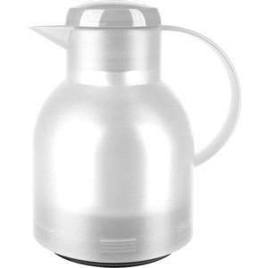 Термос-чайник 1 л Emsa Samba (504687) белый emsa термос кофейник samba 508950 1 л желтый 60569 emsa