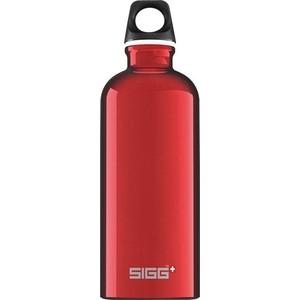 Бутылка для воды 0.6 л Sigg Traveller (8326.30) красная бутылка для воды 1 л sigg traveller 8327 00 светло серая