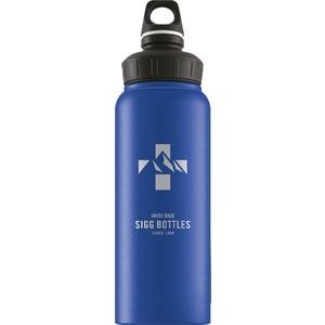 Бутылка для воды 1 л Sigg WMB (8745.00) голубая бутылка для воды 1 л sigg traveller 8327 00 светло серая