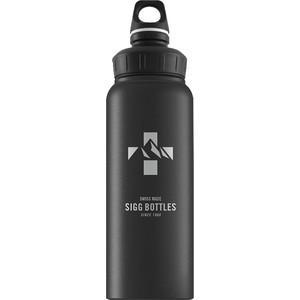 Бутылка для воды 1 л Sigg WMB (8744.80) черная