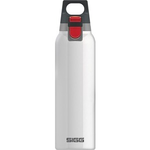 Термобутылка 0.5 л Sigg H&C (8540.10) белая термобутылка 0 45 л asobu times square travel bottle белая sbv15 white
