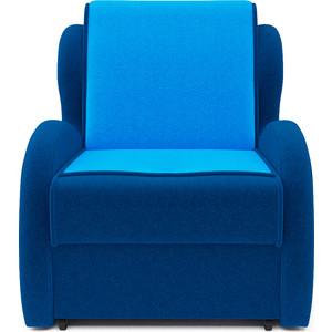 Кресло-кровать Mebel Ars Атлант - астра синяя ППУ