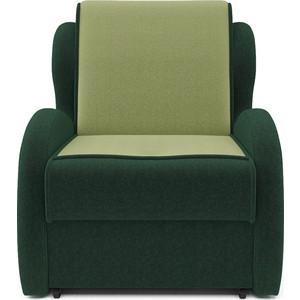 Кресло-кровать Mebel Ars Атлант - астра зеленая ППУ