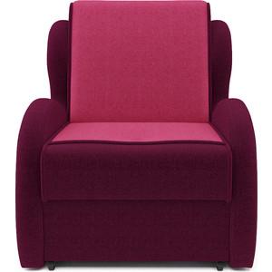 Кресло-кровать Mebel Ars Атлант - астра бордовая ППУ